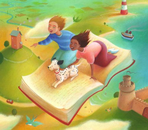 Poetry Book Cover For Kids ~ Richard johnson illustration artist illustrator
