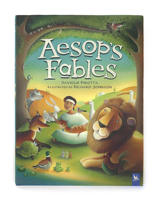Aesop's Fables Cover Artwork