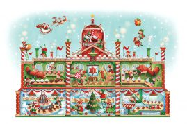 Harrods Candy Factory - Primary Image for the Christmas food hall range.