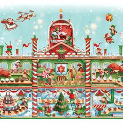 Harrods Christmas Candy Factory