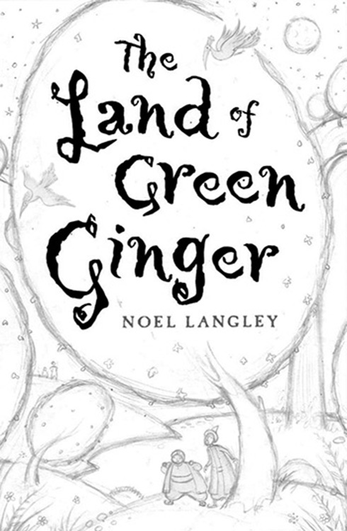Drawing design for book cover. Richard Johnson illustrator.