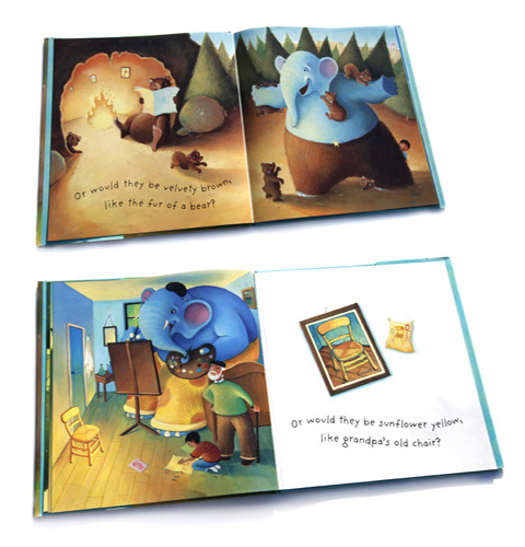 Page Samples | If Elephants Wore Trousers