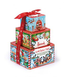Harrods Christmas Food Packaging
