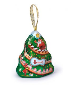 Harrods Christmas Tree Tin