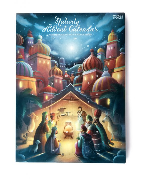 Marks and Spencer Advent Calender