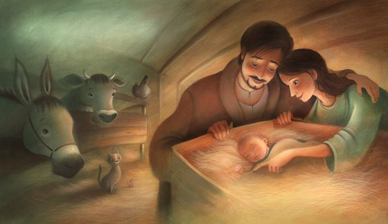 The Nativity - The Manger