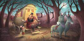 Pinocchio - Running Away