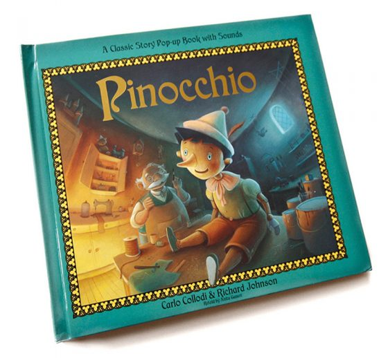 Pinocchio - Cover Artwork