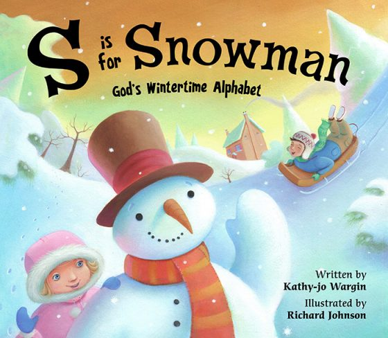 Cover Artwork for S is for Snowman