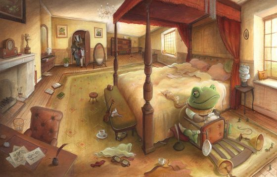 Wind in the Willows - Toad's Obsession