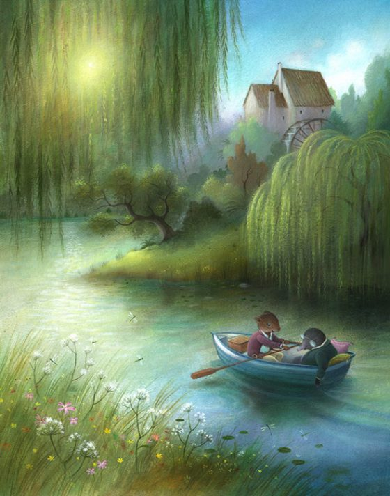 Wind in the Willows - On the River