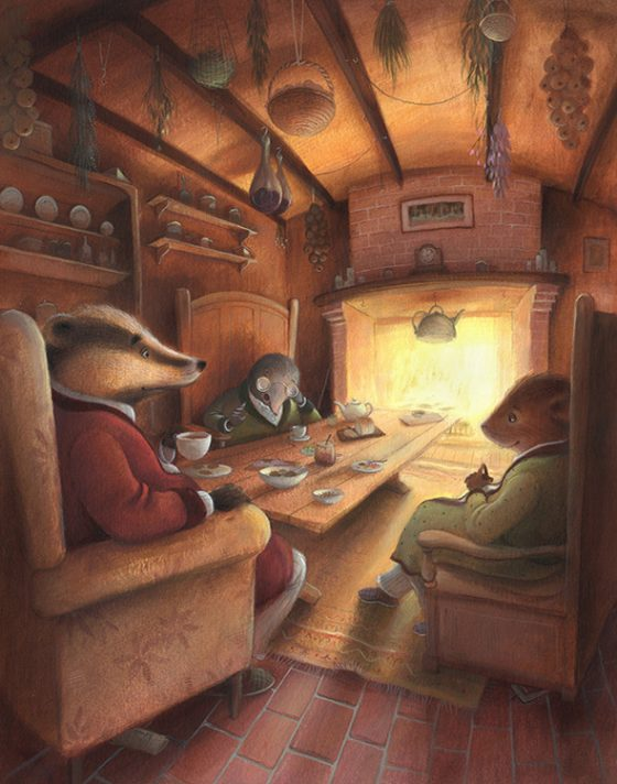 Wind in the Willows - Mr Badger's Kitchen