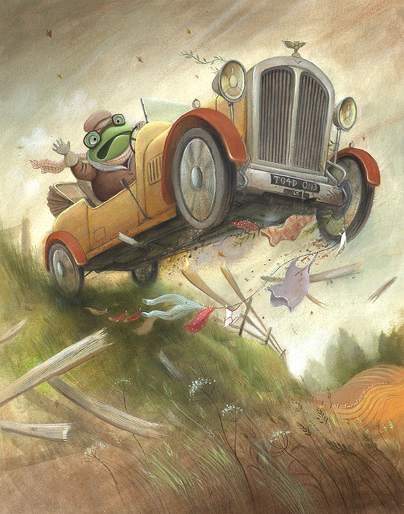 The Wind In Willows Illustrations By Richard Johnson