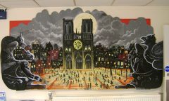 Notre Dame Mural