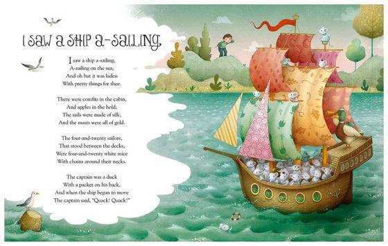 Ship A-Sailing