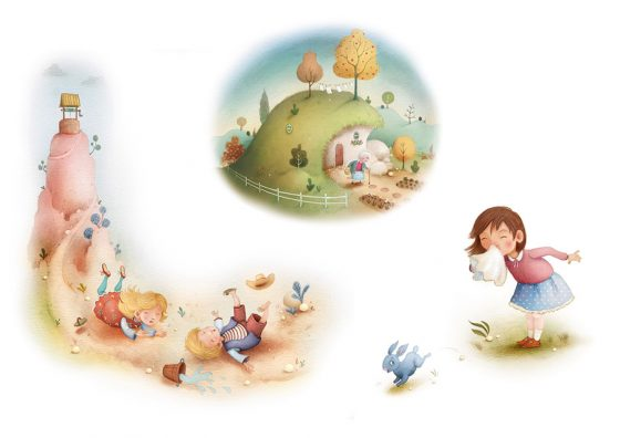 Vignettes – Nursery Rhymes