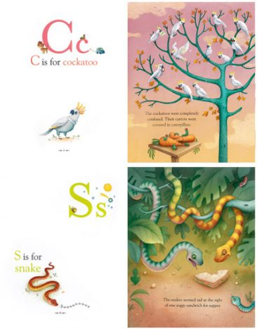 More Animal Alphabet Antics
