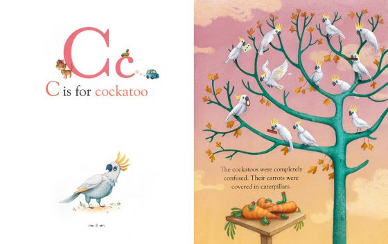 C is for Cockatoo