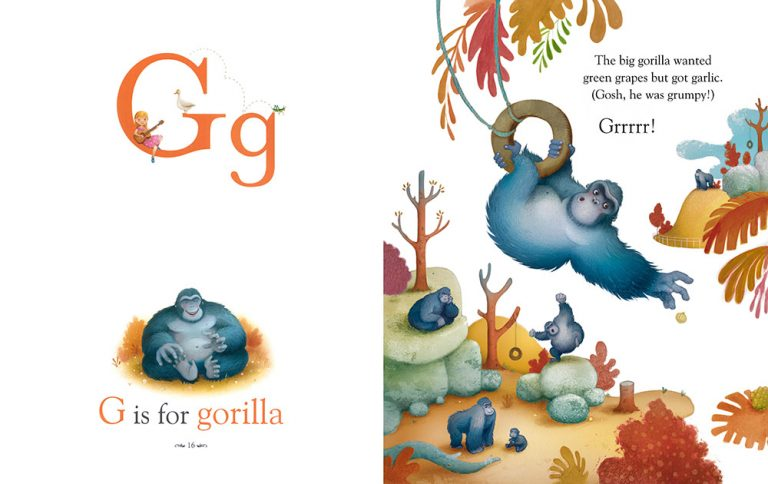 G is for Gorilla – Animal Alphabet ABC Book