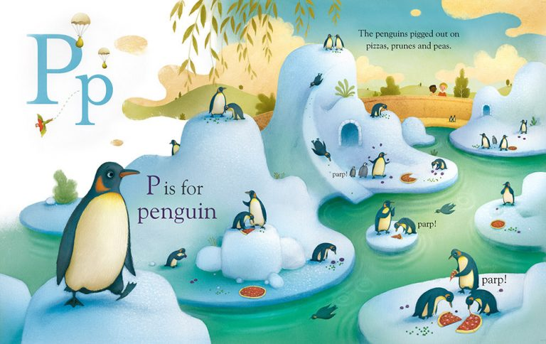 Richard Johnson Illustrator – P is for Penguin