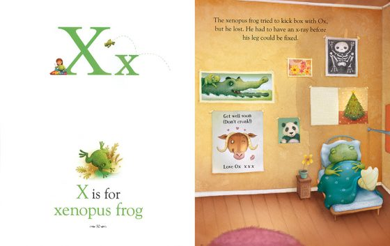 X is for Xenopus Frog?