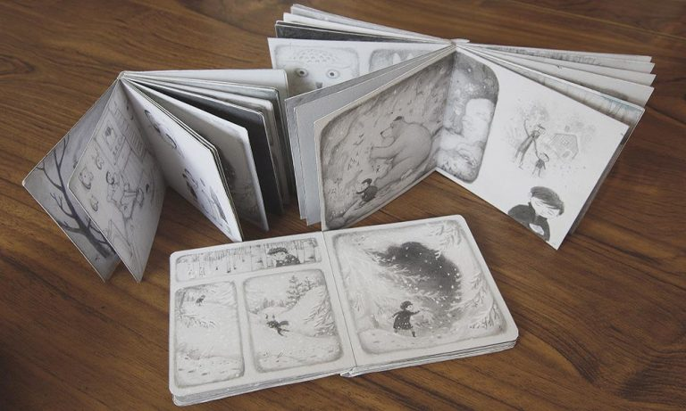 Mock Up Books – Once Upon a Snowstorm