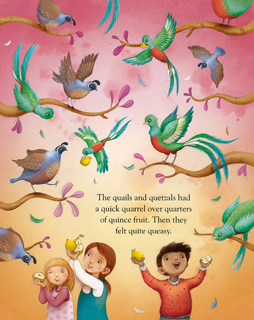 Richard Johnson Illustrator – Q is for Quetzals