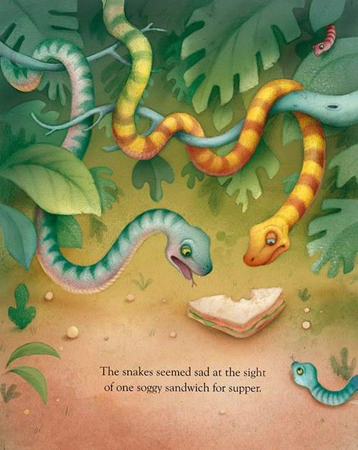 Richard Johnson Illustrator – S is for Snake