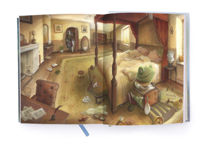 Mr Toad's Bedroom – Wind in the Willows