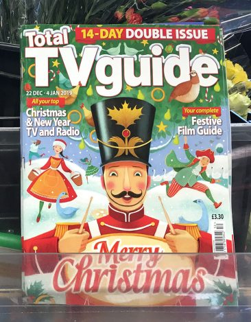 TV Guide Cover Christmas 2018
