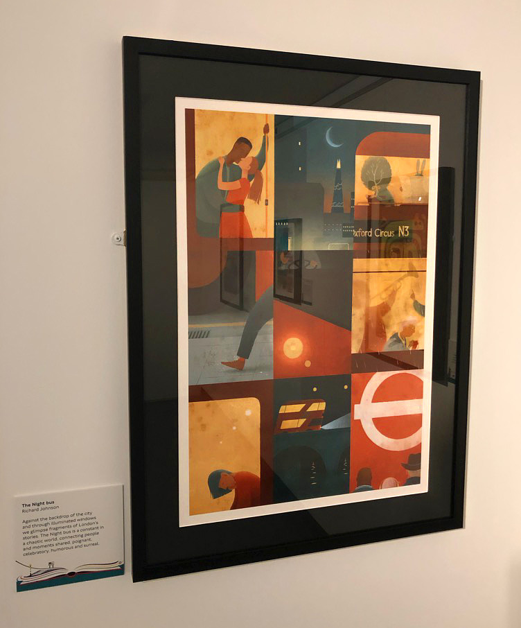The Night Bus – London Transport Musuem, Prize for Illustration